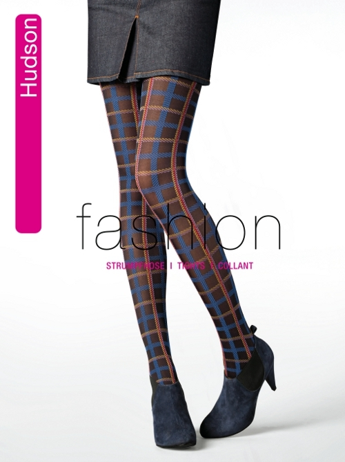 Hudson Winter Tartan Fashion Strumpfhose