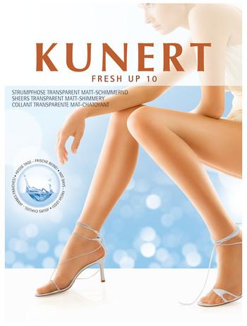 Eine innovative Materialkombination unterstützt die natürliche Klimaregulierung der Haut. Die Fasern neutralisieren Gerüche und tragen sich angenehm leicht, ohne einzuengen.  Für frische Beine an heißen Tagen