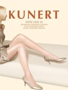 Die Satin Look 20 von Kunert ist eine Strumpfhose, für alle, die es elegant mögen. Die luxuriöse 20den-Glanzoptik zaubert einen gepflegten Look.