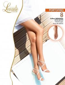 Hauchzarte und ultratransparente Sommerstrumpfhose in feinmaschiger Seidenmatt-Optik. Ohne Fusspitze (toeless).