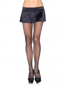 Geht immer: Durchgehend unverstärkte, feinmaschige Nylonnetzstrumpfhose. Ob klassisch schwarz oder bunt, verleiht Shorts, Minis und auch Party-Outfits den modischen Pep.