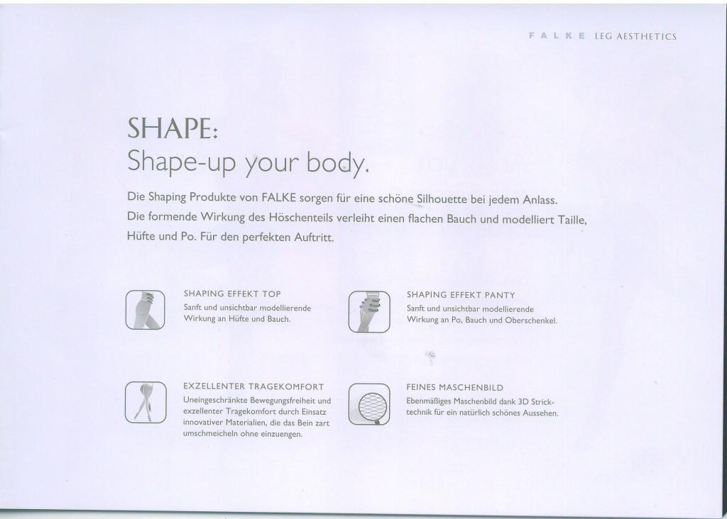 Die Shaping Produkte von FALKE sorgen für eine schöne Silhouette bei jedem Anlass. Die formende Wirkung des Höschenteils verleiht einen flachen Bauch und modelliert Taille, Hüfte und Po. Für den perfekten Auftritt.