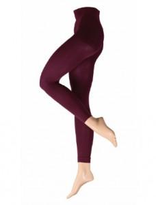 """Diese Leggings im Farbton """"Weinrot"""" ist ein perfektes Basic für die aktuellen Modetrends: Ultra-blickdicht und anschmiegsam in wunderbar gleichmäßiger Optik durch die Verarbeitung von LYCRA® 3D."""