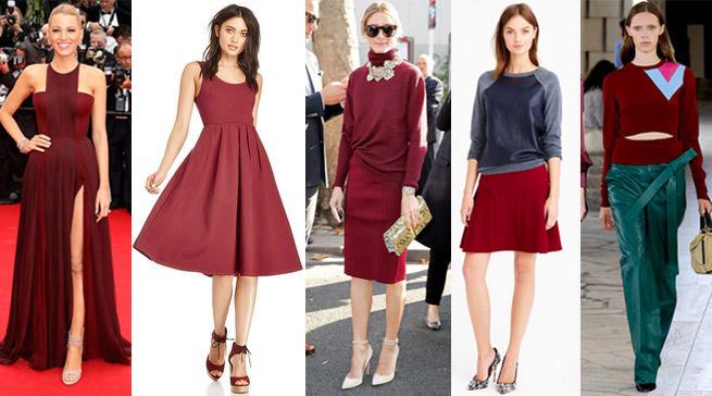 Marsala Die Trendfarbe 2015 Richtig Kombinieren Hosieria