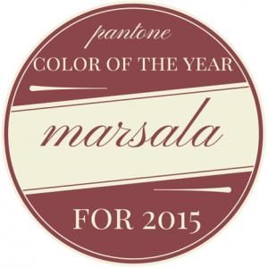 """Der gewürzartige Rot-Ton """"Marsala"""" wurde 2015 zur Trendfarbe des Jahres gewählt"""
