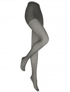 """Die """"Tradition 30"""" ist von angenehm weicher, aber sehr strapazierfähiger Spitzenqualität. Sie präsentiert die Beine in einer natürlich alltagstauglichen, semitransparenten Mattoptik. Sie ist hochwertig ausgestattet mit allen Details zur Maschensicherung und für den Tragekomfort."""